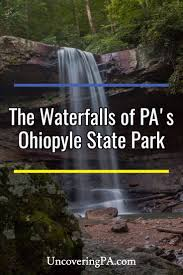 Ohio Waterfalls Map by Uncoveringpa The Waterfalls Of Ohiopyle State Park In Photos And