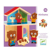Mini Home by Minihome Multicoloured Djeco Toys And Hobbies Teen Baby