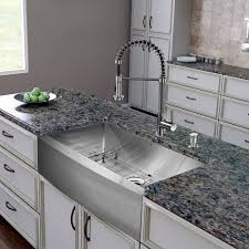 Kitchen Sink And Faucets by Vigo 36 Inch Farmhouse Apron Single Bowl 16 Gauge Stainless Steel