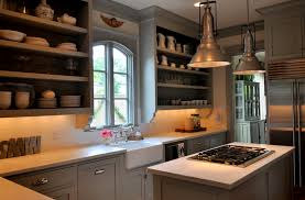 kitchen with shelves no cabinets vignette design kitchen cabinets open shelves art homes