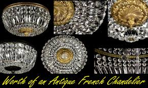 What Is Chandelier What Is It Worth For An Antique French Chandelier Made From A