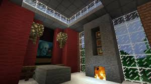 lovely fireplace in minecraft suzannawinter com