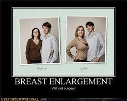 Breast Meme - breast enlargement very demotivational demotivational posters