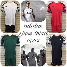Baju Adidas Juventus jual stelan setelan futsal baju bola adidas juve juventus 3rd 16 17