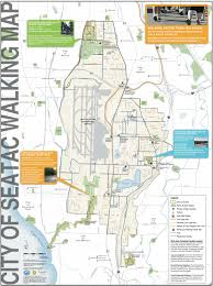 Mia Airport Map The City Of Seatac Wants You To Go For A Walk Publishes Walking