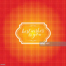 Best Color With Orange Vintage Frame With Orange Color Pattern Background Vector Art