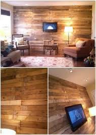 diy livingroom 15 creatively genius diy wood walls diy crafts