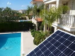 solar pool pump system at peyia paphos andi solartec solutions