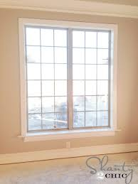 How To Replace A Window Sill Interior Super Easy Way To Case An Existing Window Shanty 2 Chic