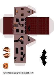 free printable halloween box druckvorlage hause freebie
