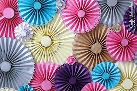back drop diy backdrop rosette photo backdrop crafts unleashed