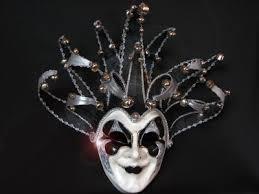 black and white masquerade masks bling joker black white mirrored venetian designer masquerade
