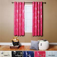 Short Wide Window Curtains by Decor Elegant Interior Home Decorating Ideas With Cool Blackout