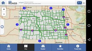 Nd Map Ndroads Travel Conditions