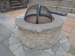 round patio stone ep henry outdoor fire pit hardscape u0026 landscape supplier blog