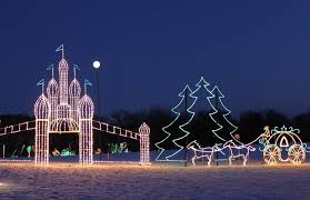 best southern christmas light displays close to atlanta
