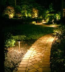 outdoors gorgeous patio paver pathway lighting ideas patio