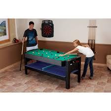 air hockey combo table fat cat 3 in 1 flip gametable walmart com