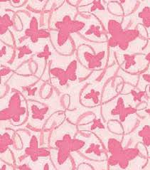 susan winget cotton fabric breast cancer awareness butterfly