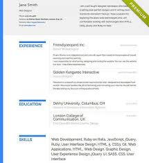 beautiful resume examples 30 free beautiful resume templates to