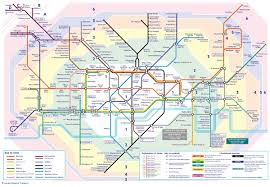 Map Of Paris Metro The London Tube Map Archive