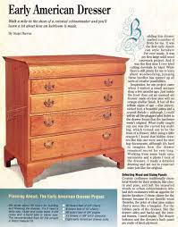 drawer dresser plans u2022 woodarchivist