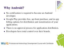 learn android development learn android course and professional mobile application development