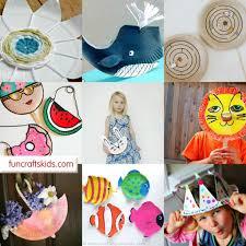 paper plate masks fun crafts kids