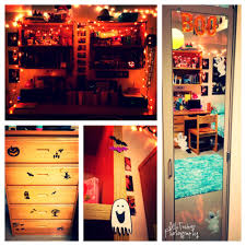 how to decorate a dorm room for halloween college pinterest