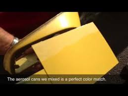 spectrometer matched auto body paint youtube