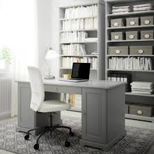 Office Ideas Interior Ikea Office Ideas With Large Desk With Metal Legs On