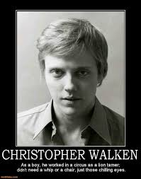 Christopher Walken Memes - tame demotivational poster page