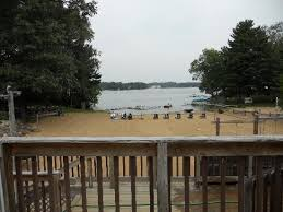 view of the beach from the deck on the main building picture of