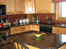 100 red kitchen walls with oak cabinets kitchen kitchen
