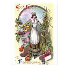 vintage thanksgiving postcards zazzle