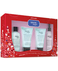 philosophy 4 pc snow gift set gifts value sets