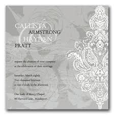 silver wedding invitations silver wedding invitation kit in san francisco the wedding