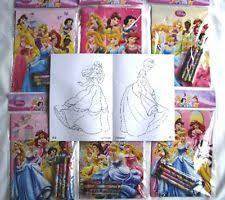disney princess coloring book lot ebay