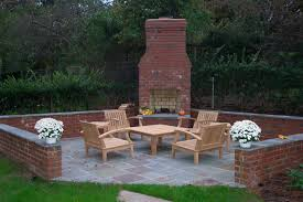 brick outdoor fireplace plans home design ideas