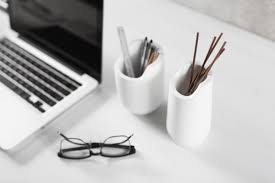 Black And White Desk Accessories Base A Collection Of Modern Office Objects Design Milk
