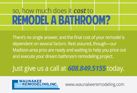 How Much Is A Bathroom Remodel How Much Does It Cost To Remodel A Bathroom Madison Wisconsin