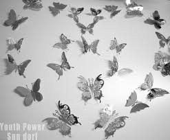 24pcs lot 3d wall sticker butterfly 4 sizes stainless steel home 24pcs lot 3d wall sticker butterfly 4 sizes stainless steel home room butterflies sofa setting walls decor decorations stickers in wall stickers from home