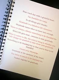 thankful journal idea for thanksgiving devotional