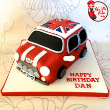 car cake how to a car cake mini cooper she who bakes