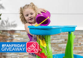 step 2 rain showers splash pond water table step2 fanfriday giveaway enter today 4 20 only familysavings