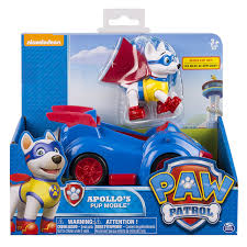 amazon paw patrol apollo u0027s pup mobile vehicle figure