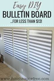 the bulletin board of all bulletin boards diy for less than 13