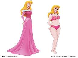 disney princesses imagined body types