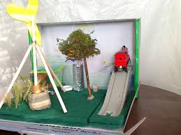 renewable energy diorama projects for kids