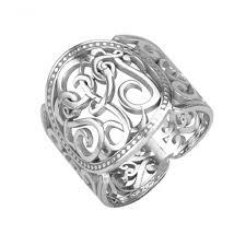 Monogrammed Silver Ring 188 Best Monogram Jewelry Images On Pinterest Monogram Jewelry